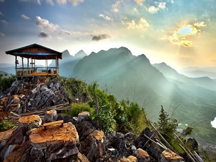 Viewpoint over Nong Khiaw